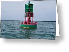Channel Markers 2006 Greeting Card