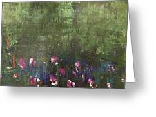 Channeling Monet #1 Greeting Card