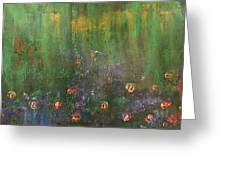 Channeling Monet #2 Greeting Card