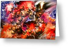 Chaos Spheres By Spano Greeting Card