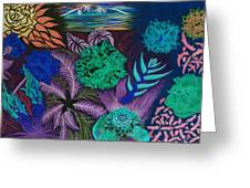 Chaotic Beauty Invert Greeting Card