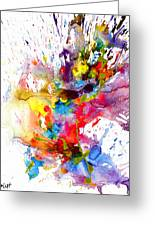Chaotic Craziness Series 1998.033114 Greeting Card