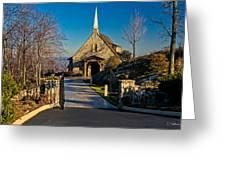 Chapel At Glassy Greeting Card