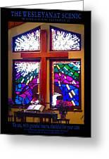 Chapel At The Wesleyan At Scenic Greeting Card