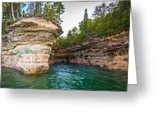 Chapel Cave Greeting Card