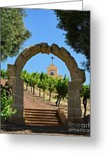Chapel Hill Vineyard Greeting Card