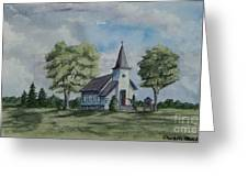Chapel In Summer Greeting Card