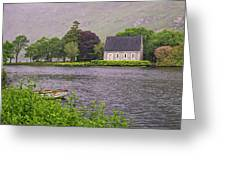 Chapel In The Mist - Gougane Barra - County Cork - Ireland Greeting Card