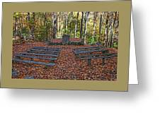 The Chapel In The Park Greeting Card