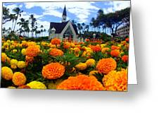 Chapel In The Sky Greeting Card