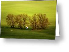 Chapel-in-trees Greeting Card