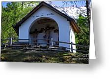 Chapel Of Rietz Calvary Tyrol Austria Greeting Card