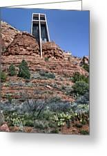 Chapel Of The Holy Cross - Arizona Greeting Card