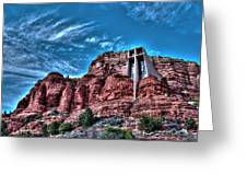 Chapel Of The Rock Greeting Card
