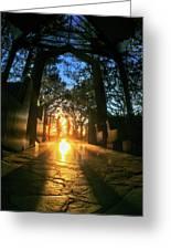 Chapel Sunset Greeting Card