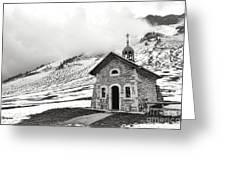 Chapelle Des Aravis Greeting Card