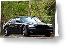 Charger Greeting Card