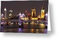Charing Cross Bridge Greeting Card