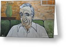 Charles Aznavour Greeting Card