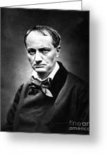 Charles Baudelaire Greeting Card