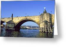 Charles Bridge, Prague Greeting Card