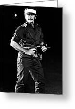 Charles Bronson In Raid On Entebbe 1977  Greeting Card