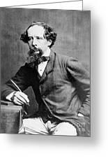 Charles Dickens Greeting Card