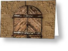 Charles Goodnight Barn Doors Greeting Card