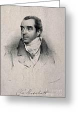 Charles Hatchett, English Chemist Greeting Card