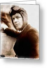 Charles Lindbergh, Aviator Greeting Card