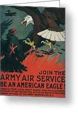 Join The Army Air Service Greeting Card