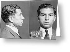 Charles Lucky Luciano Greeting Card
