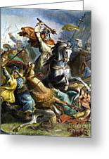Charles Martel (c688-741) Greeting Card