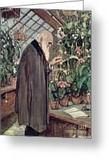 Charles Robert Darwin Greeting Card by John Collier