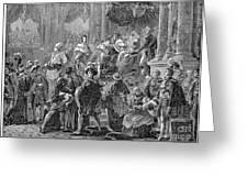 Charles X Greeting Card