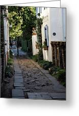 Charleston Alley 1 Greeting Card