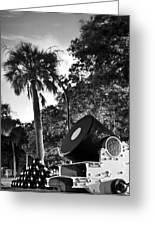 Charleston Battery Mortar  Greeting Card