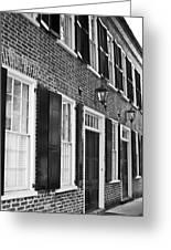Charleston Brick Homes Greeting Card