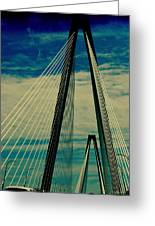 Charleston Bridge II Greeting Card