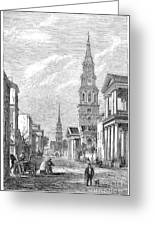 Charleston: Church, 1861 Greeting Card