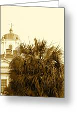 Charleston City Life Greeting Card