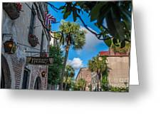 Charleston Footlight Players Greeting Card