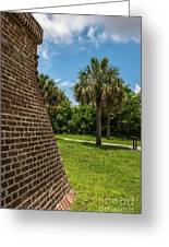 Charleston Fortification Greeting Card