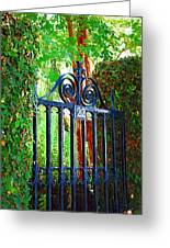 Charleston Gate 1 Greeting Card