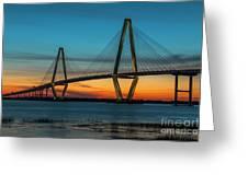Charleston Golden Hour Greeting Card