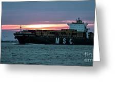 Charleston Port Greeting Card