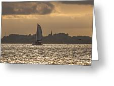 Charleston Sailing Greeting Card
