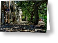 Charleston Side Street Greeting Card