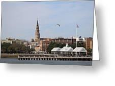 Charleston Skyline Greeting Card