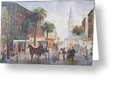 Charleston Somewhere In Time Greeting Card